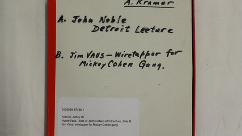 Thumbnail for entry John Noble; Jim Vaus [Part 2]