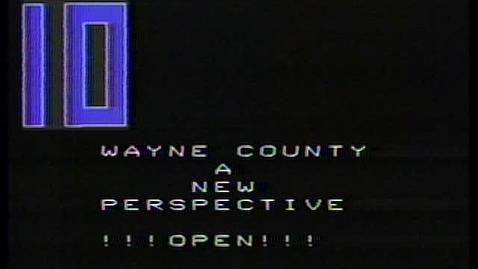 Thumbnail for entry Wayne County: A New Perspective - Prosecutor's Office