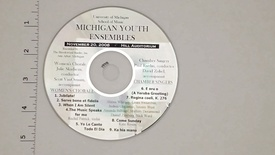 Thumbnail for entry Audio Recordings > Michigan Youth Ensembles > November 20, 2006 > Women's                 Chorale and Chamber Singers, Disk 1 of 3