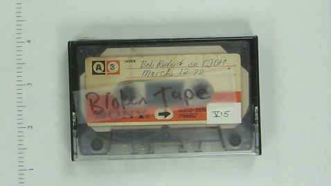 Thumbnail for entry V:5 Bob Rudnick on CJOM-FM [Side 1]