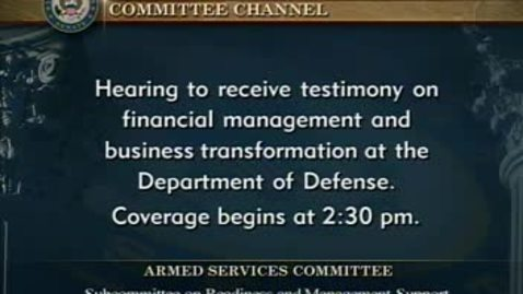 Thumbnail for entry Congressional Papers, 1964-2015 > 2009-2014 > Defense and Armed Services Committee (SASC), 1997-2015 > Committee hearings and investigations (SASC) > National Nuclear Security Administration Management of its National Security Laboratories, April 18, 2...