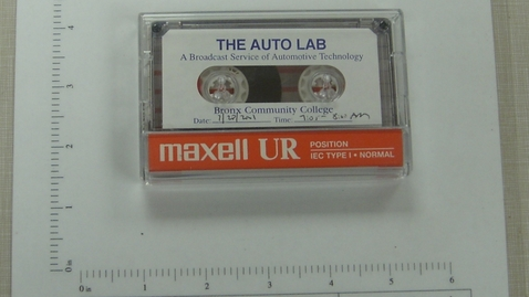 Thumbnail for entry The Auto Lab: A Broadcast Service of Automotive Technology - Bronx Community College [Side 2]