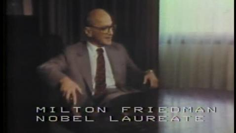 Thumbnail for entry National Tax Limitation Committee, Milton Friedman discussing tax limitation proposal