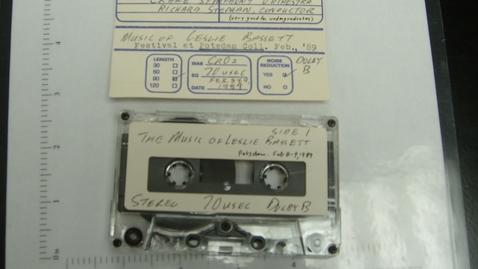 Thumbnail for entry The Music of Leslie Bassett - Festival at Potsdam College [Side 1]