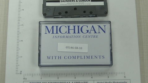 """Thumbnail for entry """"Michigan"""" Foote, Cone & Belding [Side 1; no Side 2]"""