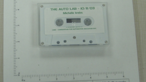 Thumbnail for entry The Auto Lab - A Broadcast Service of CAED - Consortium for Automotive Education NYC [Side 1; no Side 2]