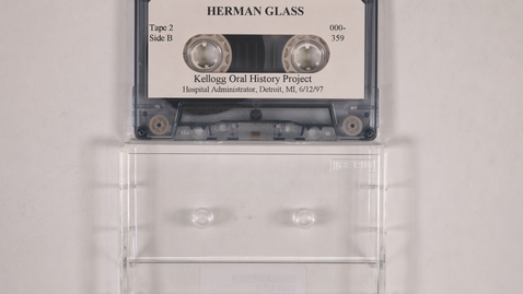 Thumbnail for entry Herman Glass interview, tape 2 [Side 2]