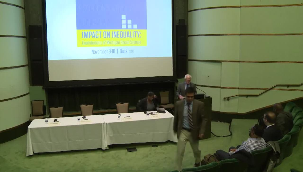 Audiovisual Materials > Bicentennial Symposium, 2017 > Day 2, Session: Innovative Research to Understand and Reduce Health Disparities