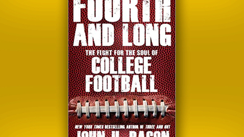"""Thumbnail for entry 2014 November 4, John U. Bacon, """"College Football: Past, Present and Future"""""""