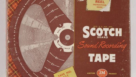 "Thumbnail for entry AFC no. SR154 (Original 7"" tape no. 90) John W. Green, Recorded at Beaver Island, Mich. [Part 1]"