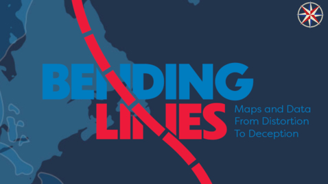 """Thumbnail for entry 2021 Feb. 24, Tour of """"Bending Lines,"""" a digital exhibition on persuasive maps at the Leventhal Map & Education Center"""