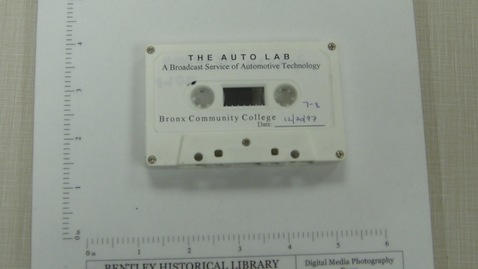 Thumbnail for entry The Auto Lab: A Broadcast Service of Automotive Technology - Bronx Community College [Side 1]