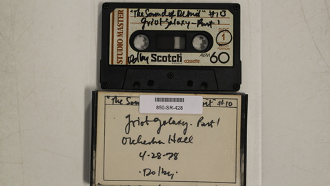 "Thumbnail for entry WDET, Detroit ""The Sound of Detroit,"" show tape 10 - Griot Galaxy Part 1 - Orchestra Hall [Side 1]"
