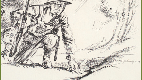"Thumbnail for entry 2019 February 5 - Louis Miller ""Over There with the American Expeditionary Force in France during the Great War"""