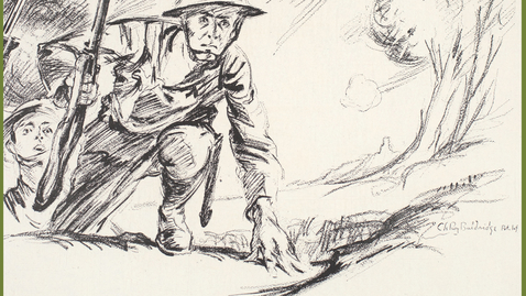 """Thumbnail for entry 2019 February 5 - Louis Miller """"Over There with the American Expeditionary Force in France during the Great War"""""""