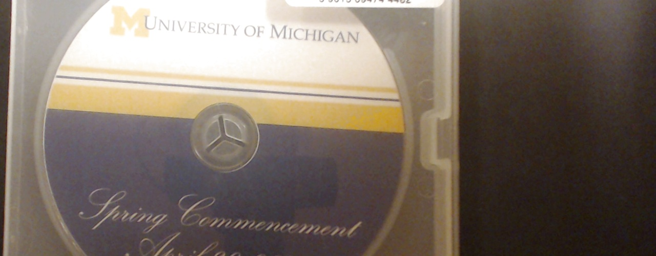 Video Recordings of Commencement Ceremonies - Spring 2006