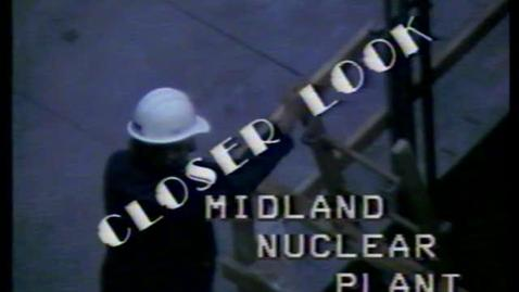 Thumbnail for entry WILX Lansing Program with Mary Sinclair regarding Consumers Power Midland Plant