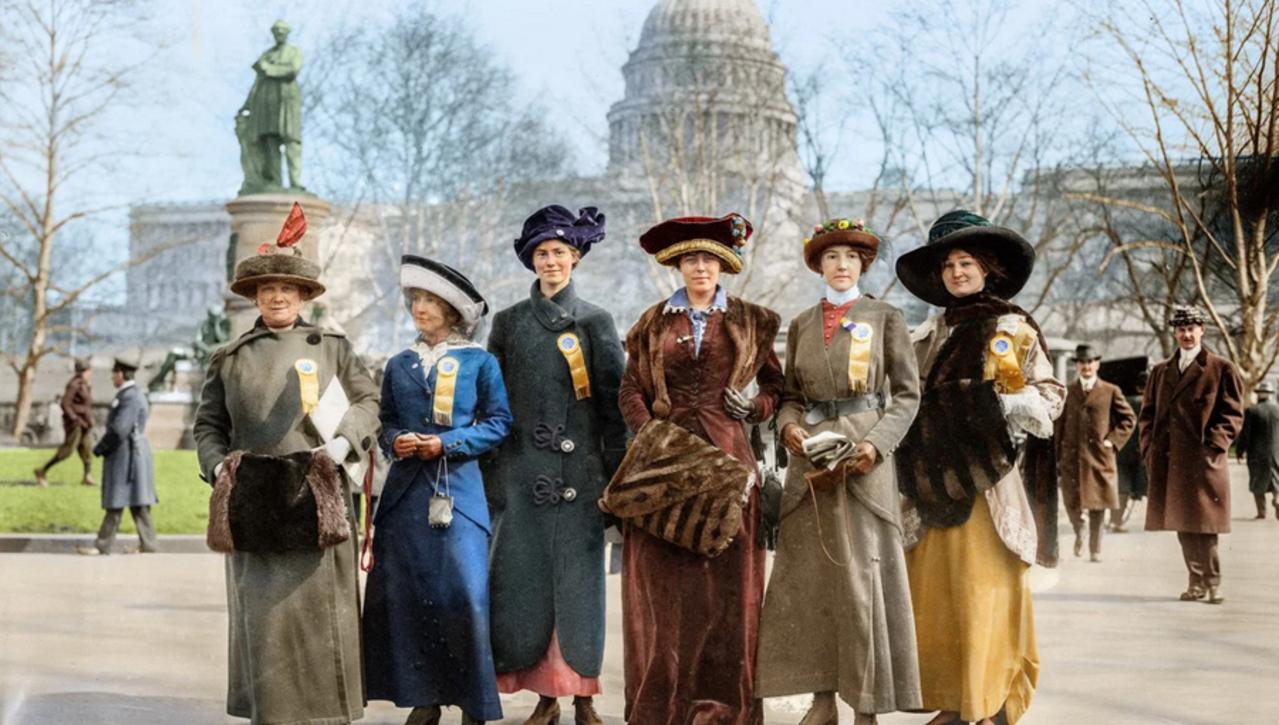 "2020 November 7, Allison Lange, ""The Women's Suffrage Movement in Photographs"""