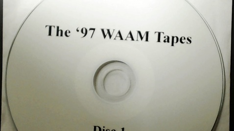 Thumbnail for entry Michigan History > Ann Arbor > WAAM Radio > The '97 WAAM Tapes Disk 1, 1997
