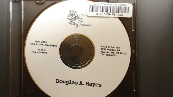 Douglas A. Hayes [Part 2]