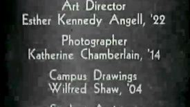 Thumbnail for entry Women in the 1930s at the University of Michigan