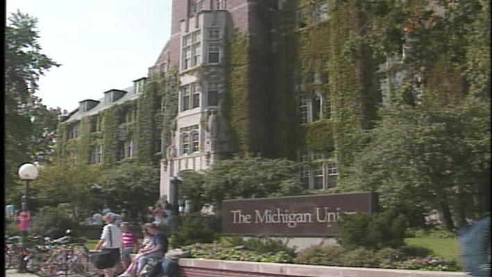 Ann Arbor campus scenes
