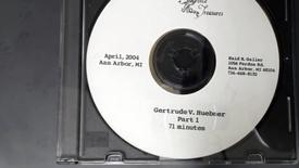 Thumbnail for entry Center for the History of Medicine - Gertrude V. Huebner, 2004 April - Part 1