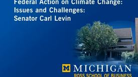 Thumbnail for entry Audiovisual Material, 1926-1996 > Moving Image Recordings, 1996 > Senator Carl Levin: Speech on Climate Change, 2005