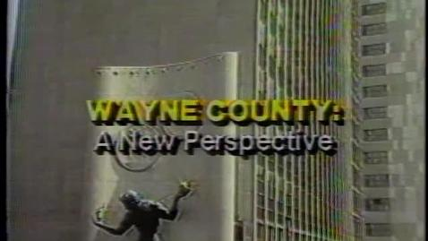Thumbnail for entry Wayne County: A New Perspective - Juvenile Crime