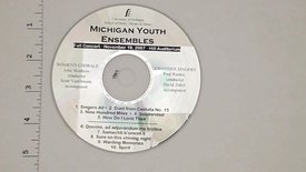 Thumbnail for entry Audio Recordings > Michigan Youth Ensembles > November 19, 2007 > Women's                 Chorale and Chamber Singers, Disk 1 of 3