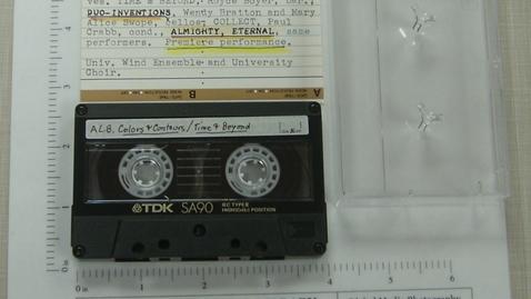 Thumbnail for entry Leslie Bassett concert at University of Alabama, Huntsville [Side 2]