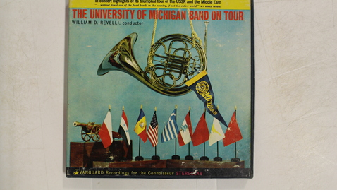 Thumbnail for entry The University of Michigan Band On Tour