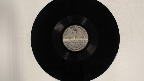 Thumbnail for entry Michigan folk songs, Series I, disc XIV-A and B: [Side 1]