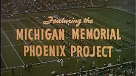 Thumbnail for entry Michigan Marching Band - Phoenix Show