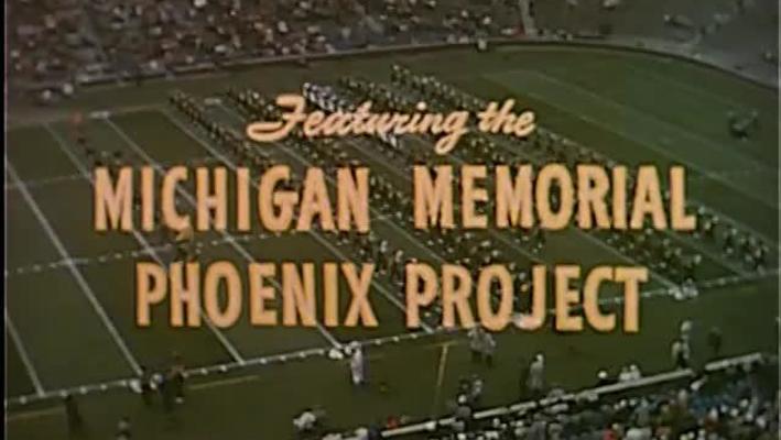 Michigan Marching Band - Phoenix Show