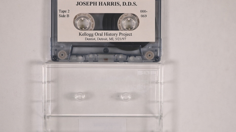 Thumbnail for entry Joseph Harris interview, tape 2 [Side 2]