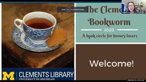 Thumbnail for entry 2020 June 12, Bookworm #12  – Civil War Experiences