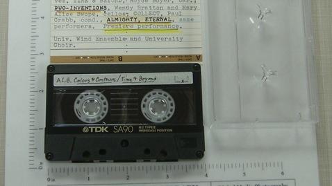 Thumbnail for entry Leslie Bassett concert at University of Alabama, Huntsville [Side 1]