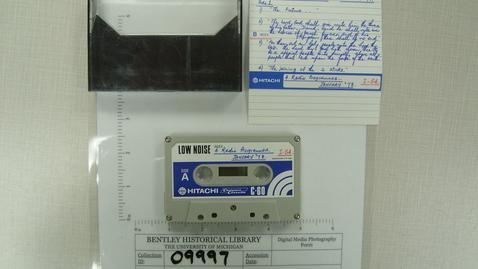 Thumbnail for entry [Programs of David Knight, Christian Israelite Church:] 4 Radio Programmes I-54 [Side 2]