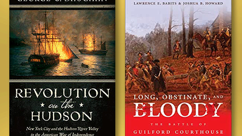 Thumbnail for entry 2020 June 19, Bookworm #13  – Battles of the Revolutionary War