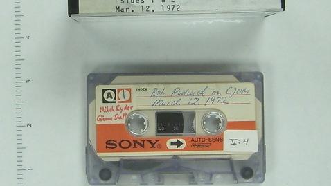 Thumbnail for entry V:4 [Bob] Rudnick on CJOM-FM [Side 1]
