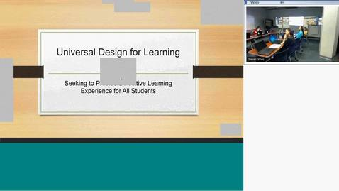 Thumbnail for entry CTL Workshop-Introduction to Universal Design for Learning