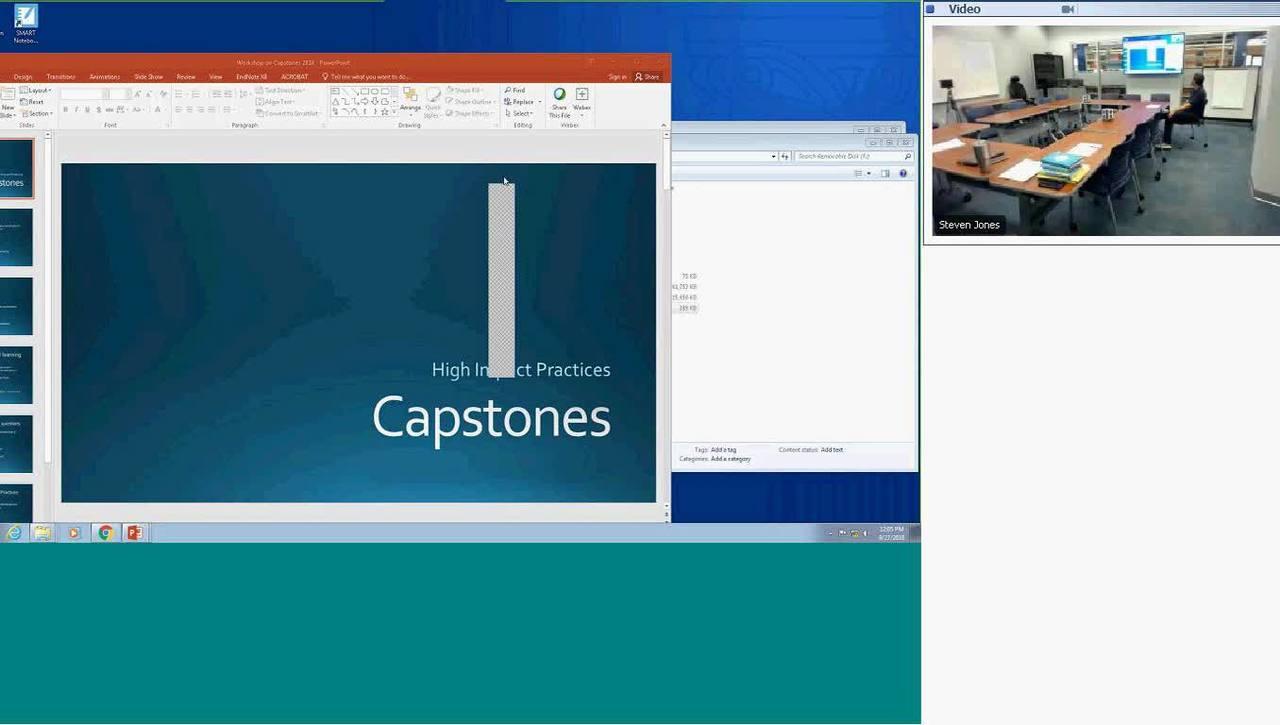 CTL workshop-Internships and Capstones