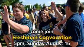 Thumbnail for entry 2015 Freshman Convocation