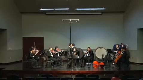 Thumbnail for entry Chamber Orchestra 4/18/17