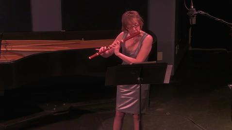 Thumbnail for entry FACS - Emily Butterfield - Five Centuries of Flute Music