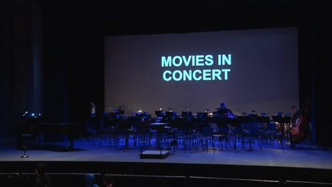 Thumbnail for entry Symphonic Band - Movies In Concert