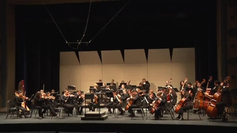 Thumbnail for entry Symphony Orchestra 12/7