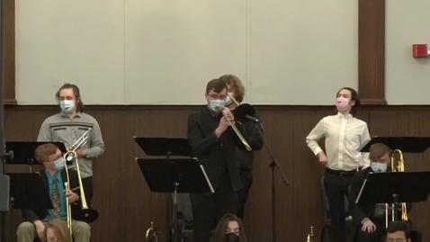 Thumbnail for entry Jazz Ensembles Concert - 2/25/21
