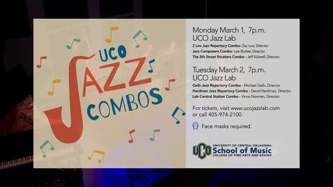 Thumbnail for entry Jazz Combos Concert - 3/2/21
